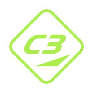 Kleber C3 40x40 Green Yellow 714-02 Grossansicht
