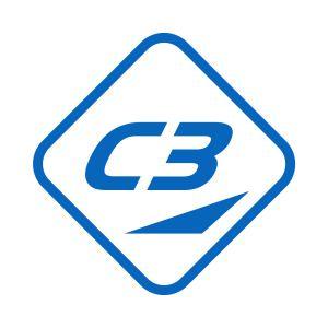 Kleber C3 40x40 Azure Blue 751 Grossansicht