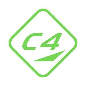 Kleber C4 40x40 Lime 714 Grossansicht