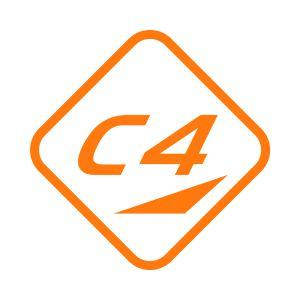 Kleber C4 40x40 Light Orange 722 Grossansicht