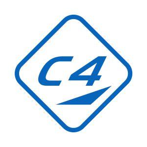 Kleber C4 40x40 Azure Blue 751 Grossansicht