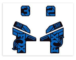 Klebersatz FOX-32 Azure Blue 751 Grossansicht