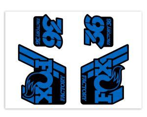 Klebersatz FOX-36 Azure Blue 751 Grossansicht