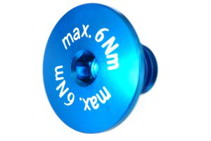 Flachkopfschraube max.6Nm! blau 1 Stk. Grossansicht