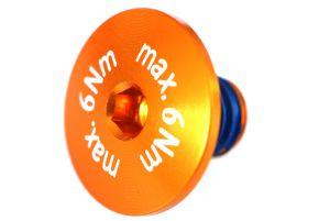 Flachkopfschraube max.6Nm! orange 1 Stk. Grossansicht