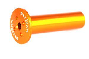 Achse 57x15 (bei Innenlager) orange-elox Grossansicht