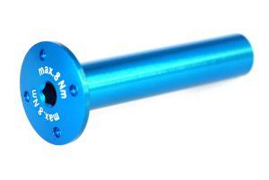Achse 60x12 (Wippe) blau-elox 1 Stk. Grossansicht