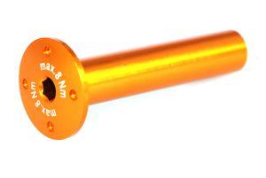 Achse 60x12 (Wippe) orange-elox 1 Stk. Grossansicht