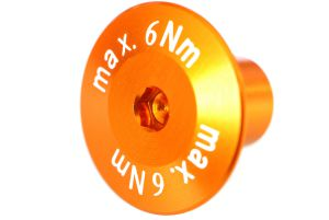 Achse kurz 12x10 max.6Nm orange-elox Grossansicht