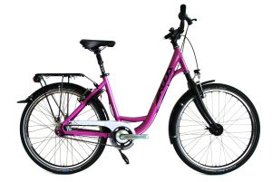 CITY BIKE 26-UFRAME 45cm violett Grossansicht