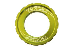 Lockring KOBA Centerlock, Lime-Yellow Grossansicht