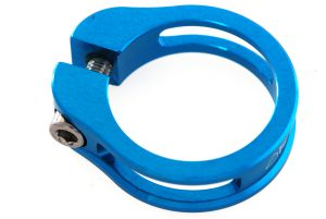 Sattelstützeklemme 34.9 KOBA CNC blau Grossansicht